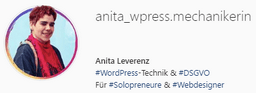 Instagram-Profil wpress-mechanikerin