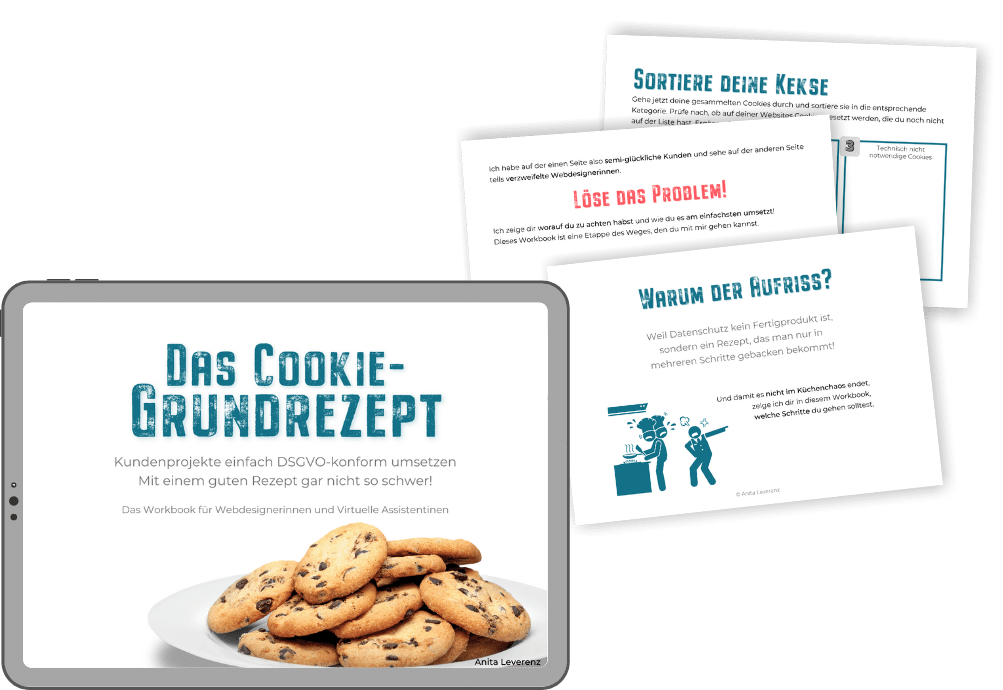 Workbook Cookies-Grundrezept