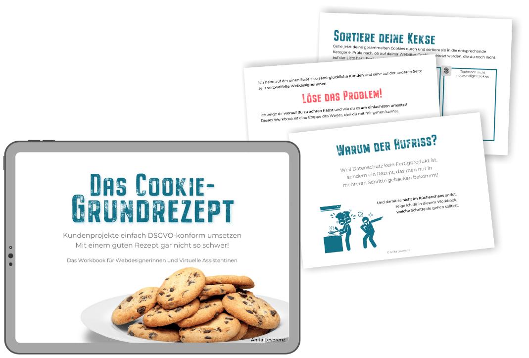 Workbook - Das Cookie-Grundrezept
